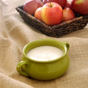 If you love maple syrup, you will love this maple dip. This is a great fruit dip served with apples and also makes a great dessert dip for fall gatherings.