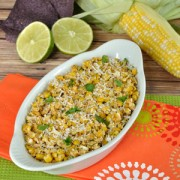 The same great flavor of grilled Mexican Street Corn in an easy to eat salsa. Serve this Mexican Street Corn Salsa with your favorite tortilla chips.