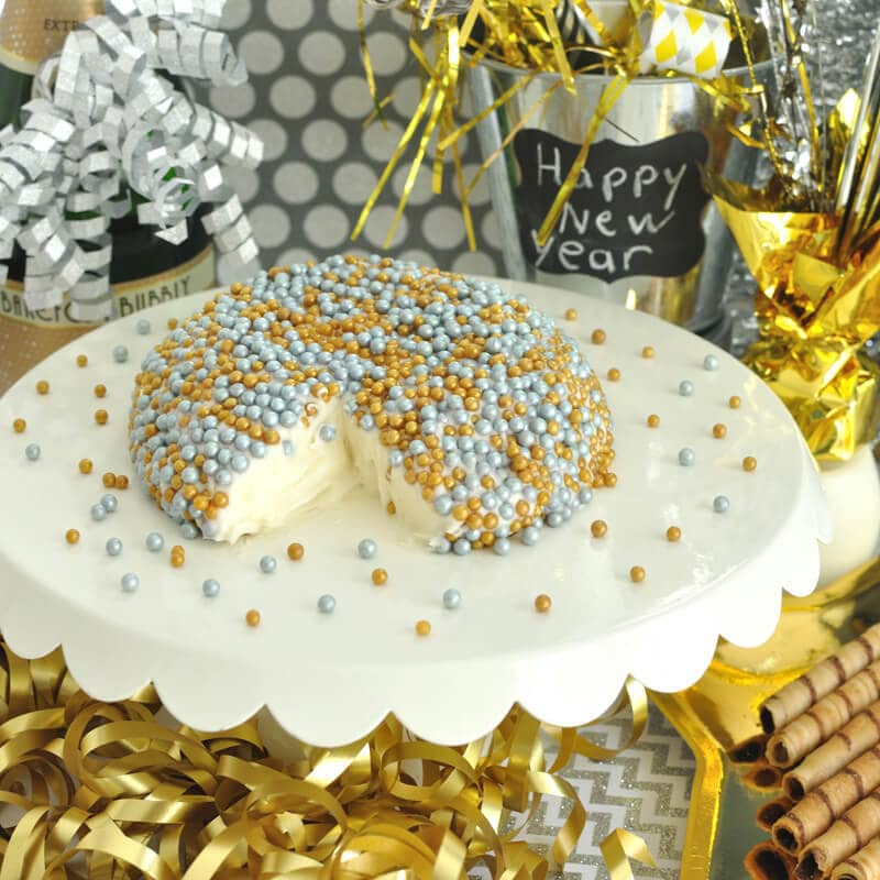 Ring in the new year with this festive and easy dessert dip recipe. Great for your New Year's Eve Party.